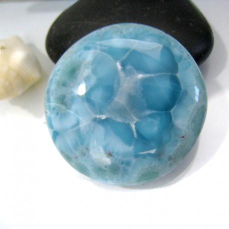 Larimar-Stone Larimar Rund Cabochon RC32 10976 89,90 €
