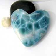 Larimar-Stone XXL Larimar Herz Cabochon HZ10 10979 399,90 €