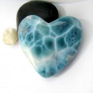XXL Ларимар сердце кабошон HZ10 10979 Larimar-Stone