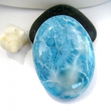 Larimar-Stone XL Larimar Oval Cabochon OC71 10982 169,90 €