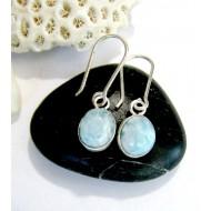 Larimar-Stone Larimar Earrings Oval YO25 11030 39,00 €