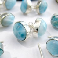 Larimar-Stone Larimar Earrings Sun OR21 11034 29,90 €