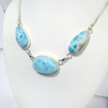 Larimar-Stone Yamir Collier Necklace YC10a 11036 129,00 €