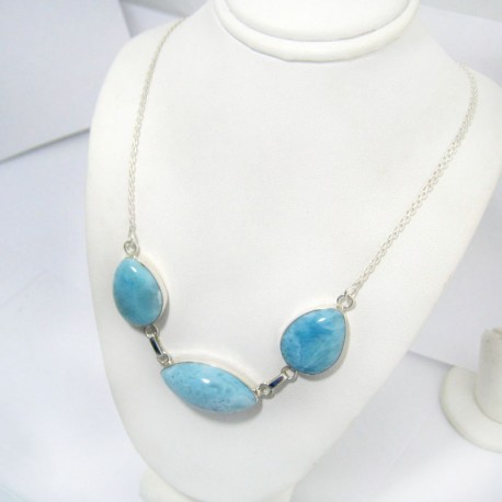 Larimar-Stone Yamir Collier Necklace YC11 11037 129,00 €