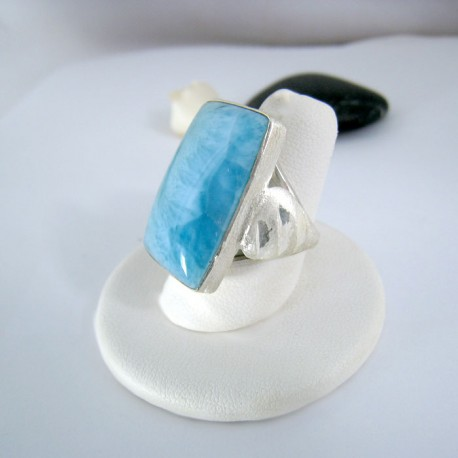 Larimar-Stone Yamir Luxury Ring Square 9114 89,00 €