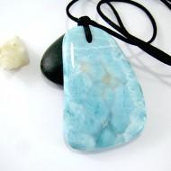 Larimar-Stone XL Larimar Stone Polished with drilled hole SB155 11112 89,90 €