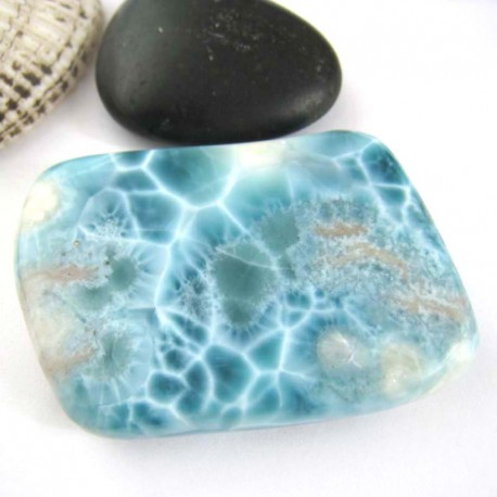 Larimar-Stone XXL Larimar Tumbled Hand flatterer HL46 11204 429,00 €