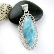 Ларимар ювелирные изделия FR56 11171 Larimar-Stone
