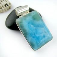 Ларимар ювелирные изделия кулон YT68 11174 Larimar-Stone