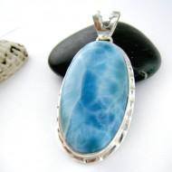 Ларимар ювелирные изделия кулон YO11 11181 Larimar-Stone