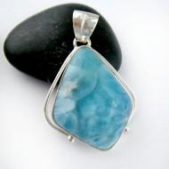 Ларимар ювелирные изделия кулон FR80 11182 Larimar-Stone