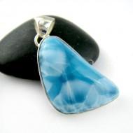 Larimar-Stone Larimar Pendant Freeform FR82 11185 109,00 €