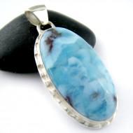 Ларимар ювелирные изделия кулон YO13 11186 Larimar-Stone