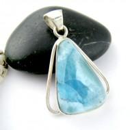 Ларимар ювелирные изделия кулон FR84 11192 Larimar-Stone