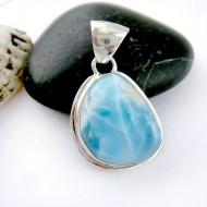 Larimar-Stone Larimar Pendant Freeform FR88 11199 59,00 €