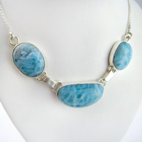 Larimar-Stone Yamir Collier Necklace YC14 11202 139,00 €