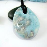 Larimar-Stone Larimar Stone Polished with drilled hole SB158 11115 69,90 €