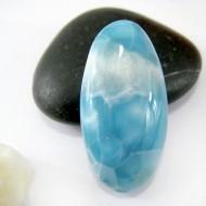 Ларимар овальный кабошон OC90 11106 Larimar-Stone