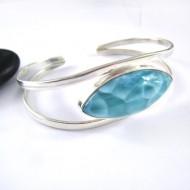 Larimar-Stone Larimar Bracelet Comet 07 11209 169,00 €