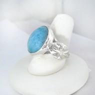 Larimar-Stone Yamir Luxury Ring Rund 9122 89,00 €