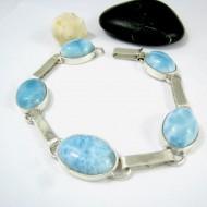 Larimar-Stone Larimar Yamir Bracelet Oval LC35 11218 129,00 €
