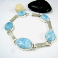 Yamir Luxury Bracelet Ovale LC35 11218 Larimar-Stone 129,00 €