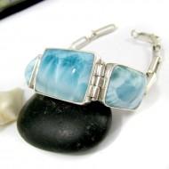 Larimar-Stone Yamir Bracelet 3 Stones YA6 11216 209,00 €