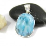 Ларимар kулон свободной форме FR92 11224 Larimar-Stone