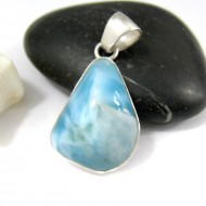 Ларимар kулон свободной форме FR98 11231 Larimar-Stone