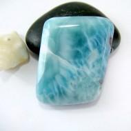 Ларимар галтованный HL57 11157 Larimar-Stone