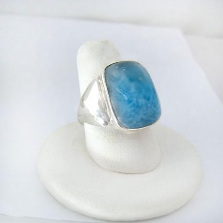 Larimar-Stone Yamir Luxury Ring Freeform 9125 89,00 €