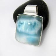 Ларимар ювелирные изделия кулон YT70 11237 Larimar-Stone