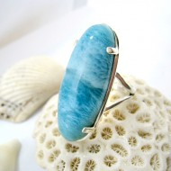 Larimar-Stone XL Larimar Yamir Luxury Ring Oval YR6 11247 169,00 €
