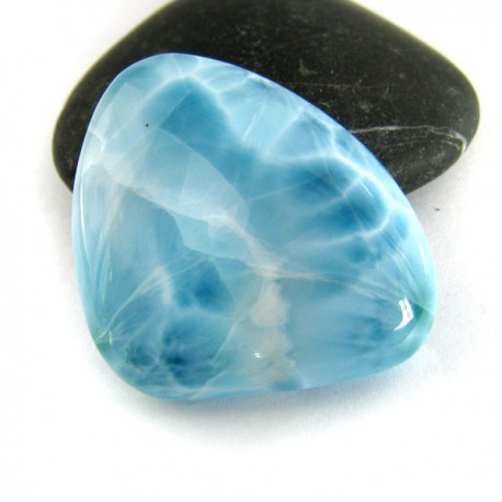 Larimar-Stone Freeform Cabochon 8881 45,90 €