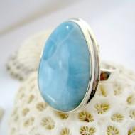 Ларимар Ювелирное кольцо YF18 11254 Larimar-Stone