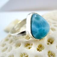 Ларимар Ювелирное кольцо YF19 11262 Larimar-Stone