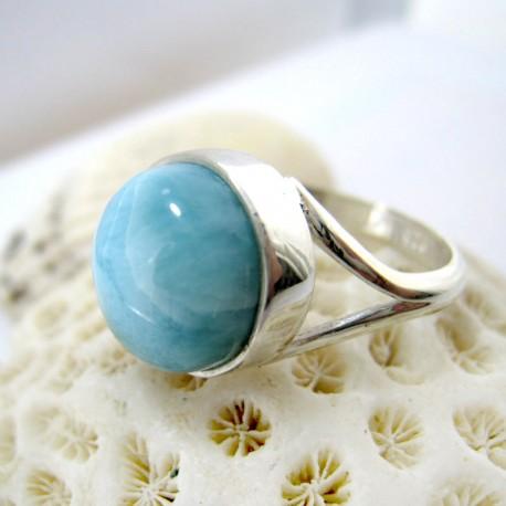 Larimar-Stone Larimar Ring Rund LR9 11263 49,00 €