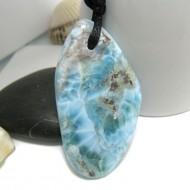 Larimar-Stone Larimar Stein mit Bohrung und Band SB241 11312 79,90 €
