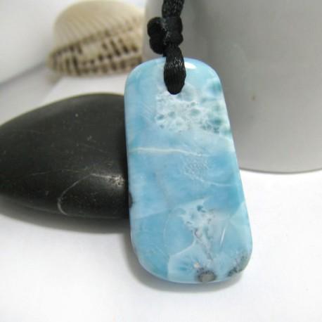 Larimar-Stone Larimar Stein mit Bohrung und Band SB251 11322 39,90 €