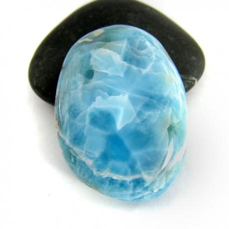 Larimar-Stone Freeform Cabochon 8883 45,90 €