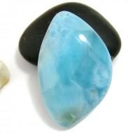 Ларимар без формы кабошон FC226 11341 Larimar-Stone