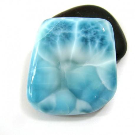 Larimar-Stone XL Larimar Freeform Cabochon FC229 11345 169,00 €