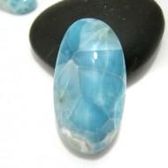 Ларимар овальный кабошон OC102 11355 Larimar-Stone