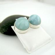 Larimar-Stone Larimar Earrings Round 9137 29,00 €