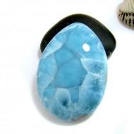 XL Larimar Drop Cabochon TC31 11384 Larimar-Stone 159,90 €