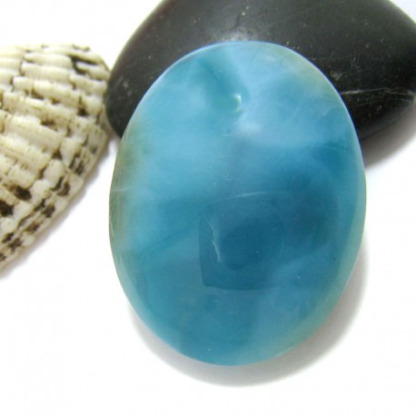 Larimar-Stone Larimar Oval Cabochon OC79a 11390 119,90 €