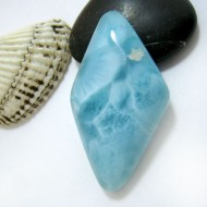 Larimar-Stone Freeform Cabochon Larimar FC242 11397 109,90 €