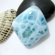 Larimar-Stone Freeform Cabochon Larimar FC243 11398 94,90 €