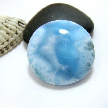 Larimar-Stone Larimar Rund Cabochon RC37 11401 89,90 €