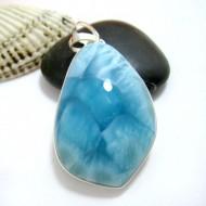 Ларимар kулон свободной форме FR101 11425 Larimar-Stone